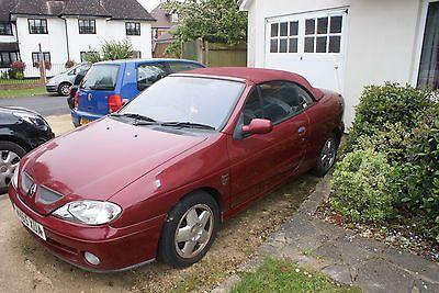 eBay: Renault Megane Cabriolet (Spares or repair) #carparts #carrepair