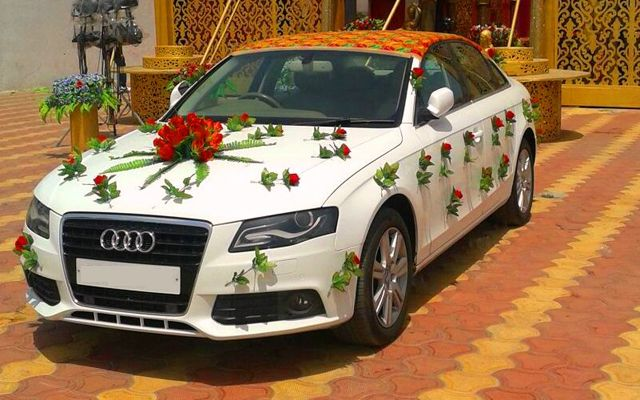 Hire an AUDI - A4 on your weddings marriages parties or ...