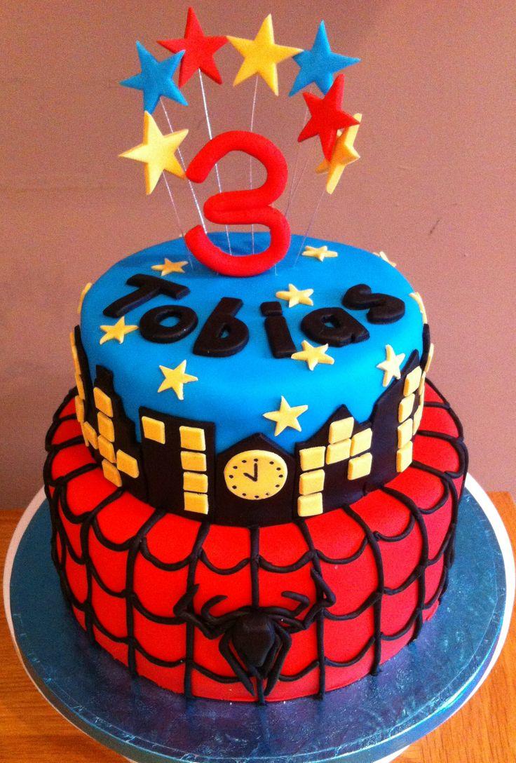 Spider Birthday Cake Designs