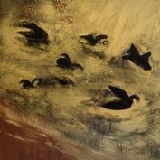 Lampedusa, Painting by Marita Liulia