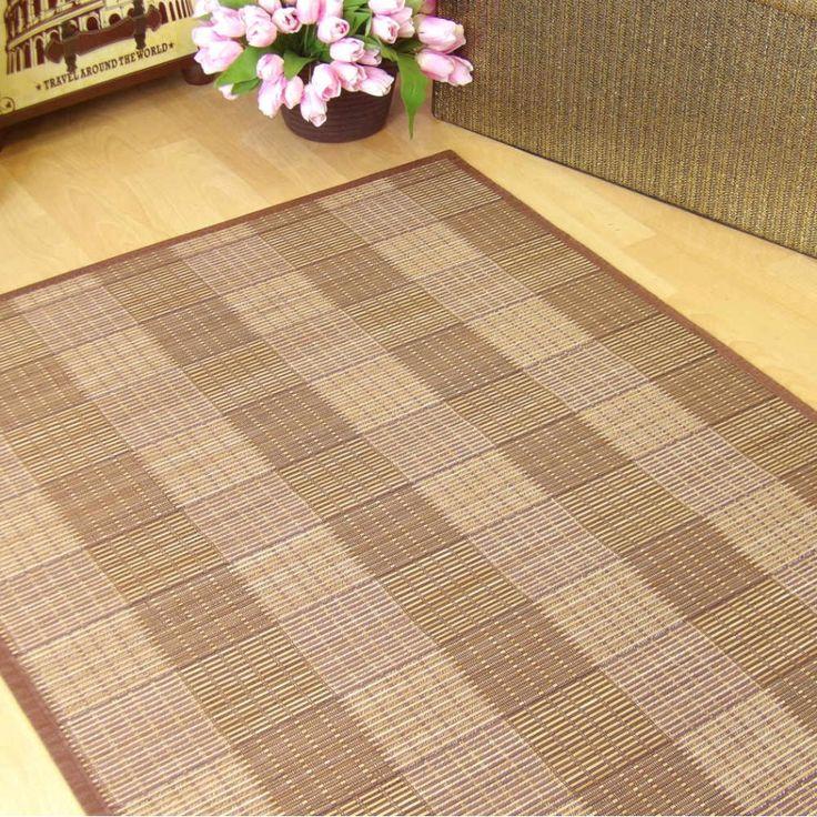 123 best images about nos gustan las alfombras on - Alfombras de bambu ...