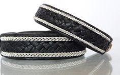 Scandinavian Sami craft, the tin/leather bracelet | Tennarmband för alla