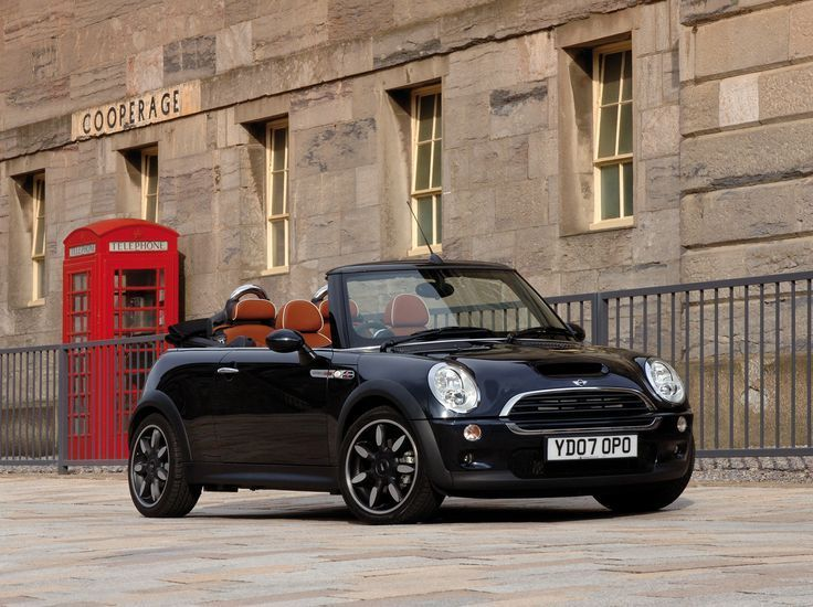 """Mini Cooper S Cabrio """"Sidewalk"""", UK-Spezifikation (R52) & # 39; 2007 – #amp #Cab…"""