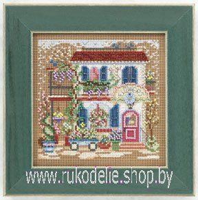 Набор для вышивания Mill Hill Цветочный домик14-1103