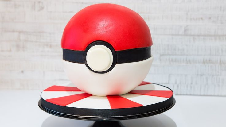 Pokémon Ball Cake/Torte #Leonor's Sweet Creations /