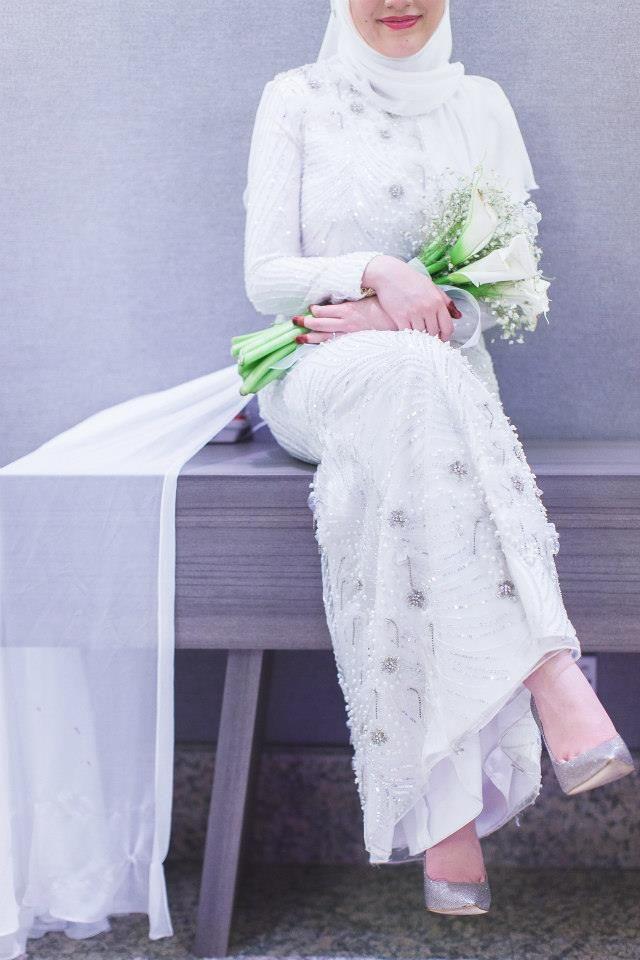 Muslimah Bridal Wear by Innai Red