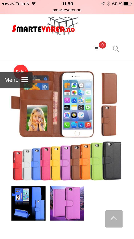 iPhone cover m. Kortholder