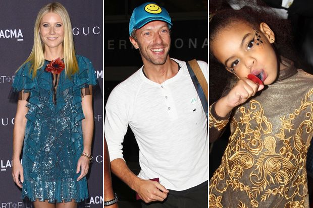 Gwyneth Paltrow, Blue Ivy and Chris Martin's New Girlfriend Are All on Coldplay's New Album