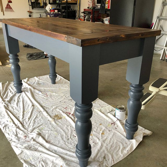 Design 59 Chunky Farmhouse Dining Table Legs Component Parts Farmhouse Table Legs Painted Kitchen Tables Painted Dining Room Table