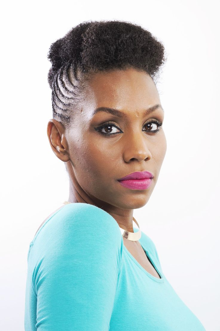 - Flat Twist Up-Do This flat twist up-do style is simple, elegant and can last you up to three weeks.