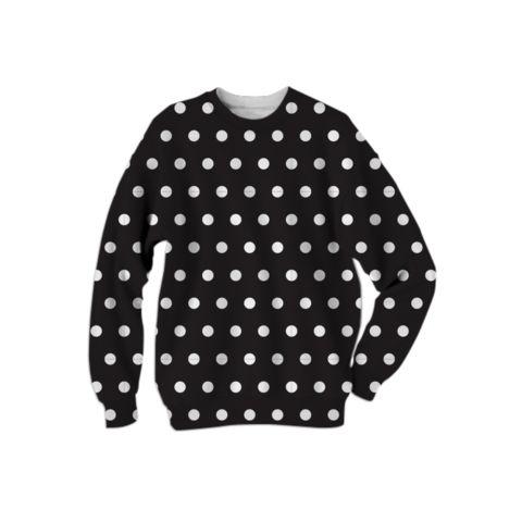 Polka Sweatshirt (Black)