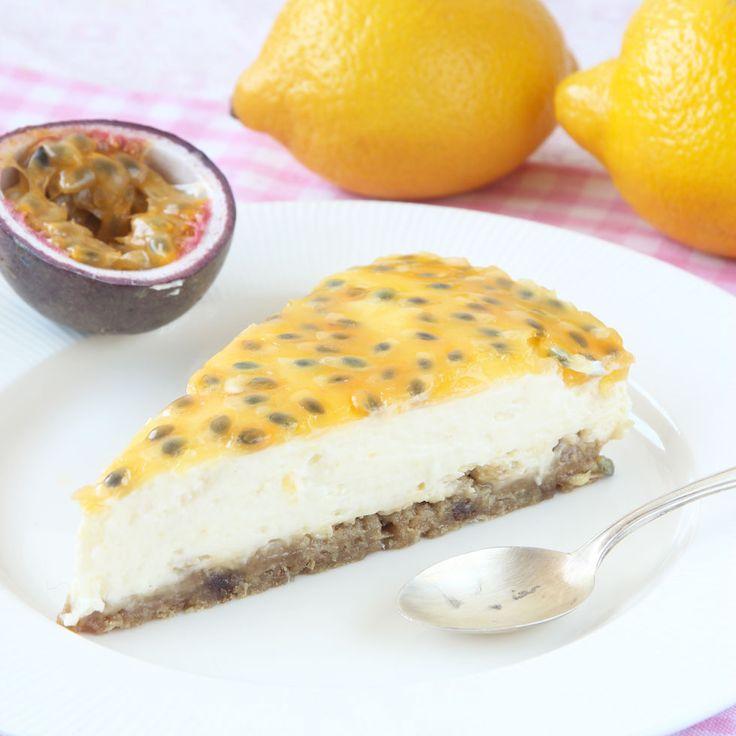 Passionsfruktcheesecake – lindasbakskola.ned.betaurl.se