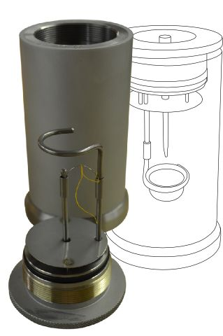 The CAL2K bomb vessel holds the sample to measured with any of the CAL2K calorimeters - DDS CALORIMETERS