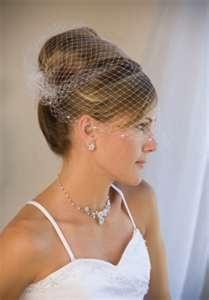 ivory wedding veils  