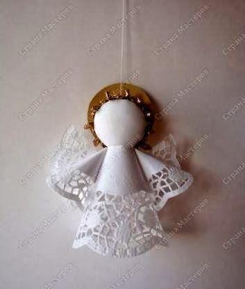 angel-hecho-con-blondas.jpg (353×416)