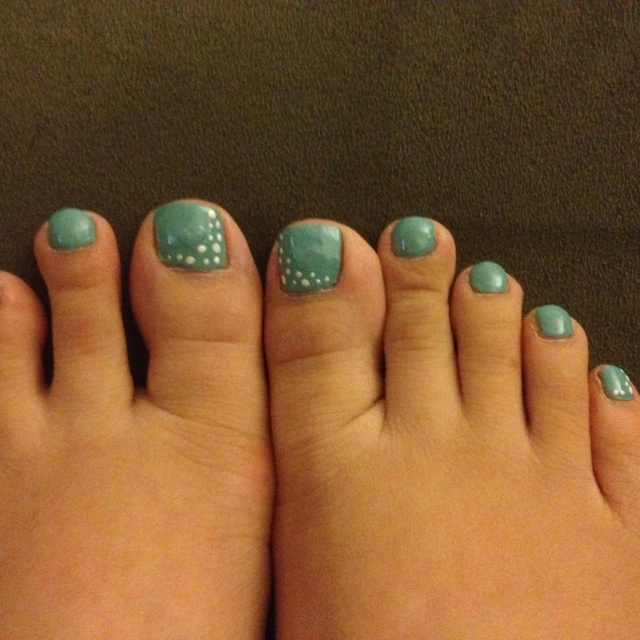 201 best toe nail art images on pinterest beautiful enamels and eye toe nail art polka dots prinsesfo Image collections