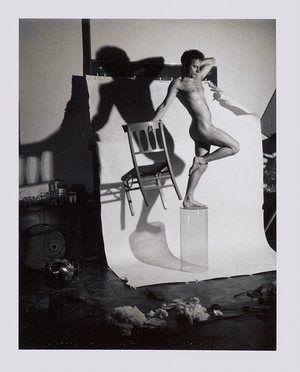 Lucas Samaras AutoPolaroid, 1969-71 Gelatin silver transfer print (Polaroid film) 3 ¾ x 2 7/8 inches