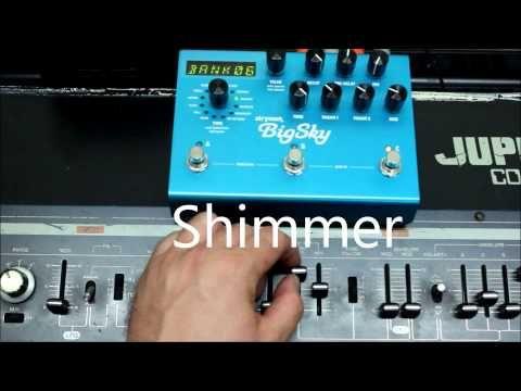 ▶ Big Sky Jupiter (Strymon Big Sky Demo with Roland Jupiter 4 Synth) - YouTube