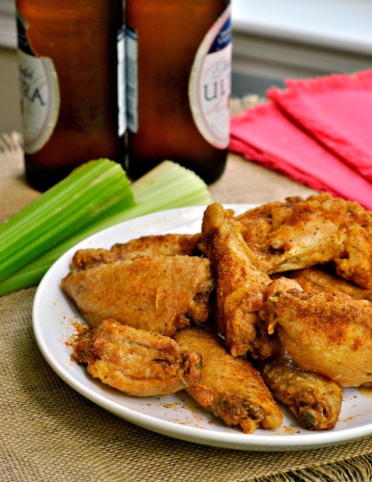 These baked wings will make you never want to fry a wing again! Maryland's own Old Bay seasoning makes these Crispy Baked Old Bay Wings an MVP on game day!