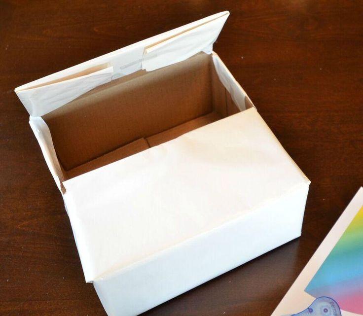 how to make a unicorn valentine box