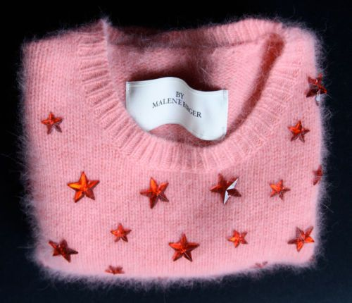 #PANDORAloves ... this beautiful angora pullover by Marlene Birger #style #stars
