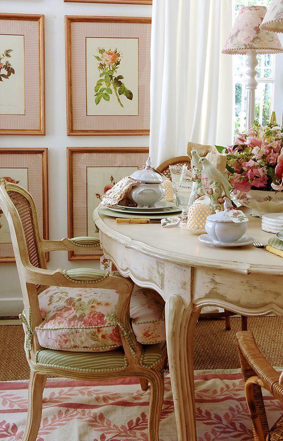 Die besten 25+ Shabby chic dinning room Ideen auf Pinterest - esszimmer weis landhaus