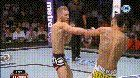 cool Conor McGregor throws front leg hook kicks, uppercuts and more against Max Holloway