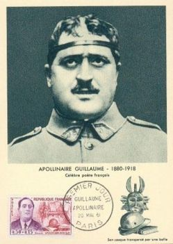 Guillaume Apollinaire:: French poet, playwright, short story writer, novelist, and art critic of Polish descent.