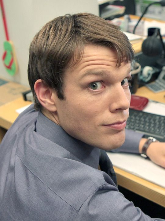 Oh heyyyyy boiiii. The Office (TV show) Jake Lacy as Pete