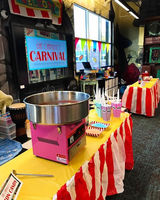 The Chemist's Carnival: Exploring chemical and physical changes