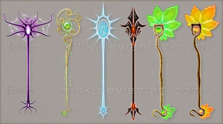 Staff designs 11 by Rittik-Designs on deviantART