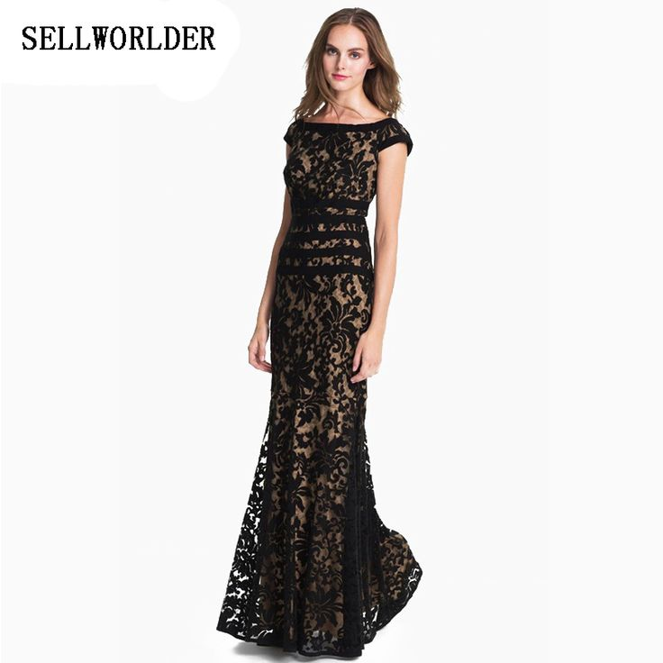 2016 New Fashion Women Lace Floor length Dress Show your Slim body in the Party