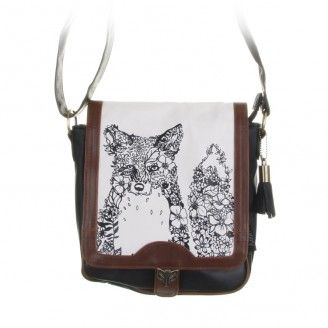 We love the Fox trend at the moment! Hola Fox Satchel from Disaster Designs. Check it out on our website www.upthegardenpathhanmersprings.co.nz