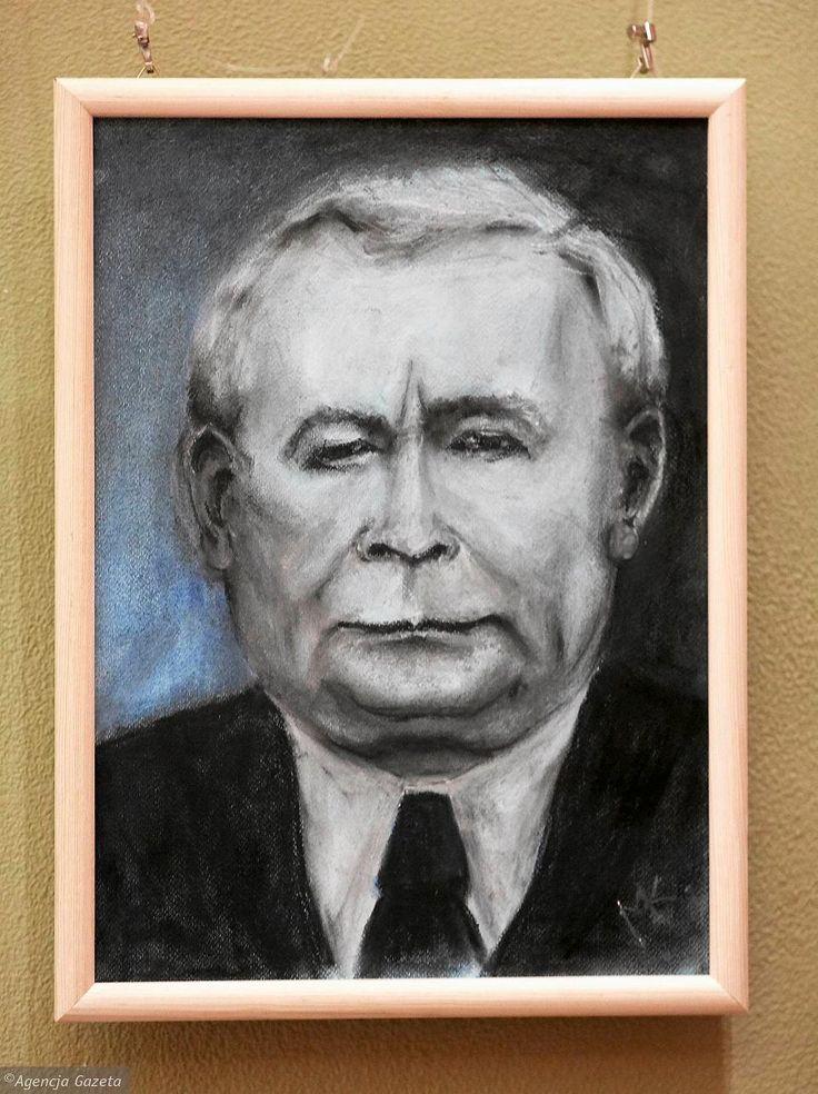 Zdjęcie numer 22 w galerii - Jarosław Kaczyński na 35 portretach. Kim są autorzy? [ZDJĘCIA]