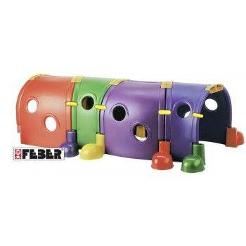 Tunel zabawowy, z możliwością dokupienia dodatkowych modułów/części. //DUŻA MOTORYKA