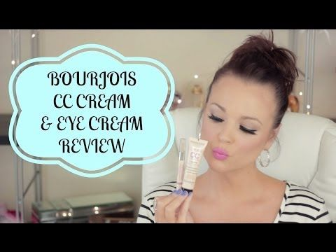 ▶ Bourjois CC Cream & Eye Cream Review & Demo | MissTango2 - YouTube