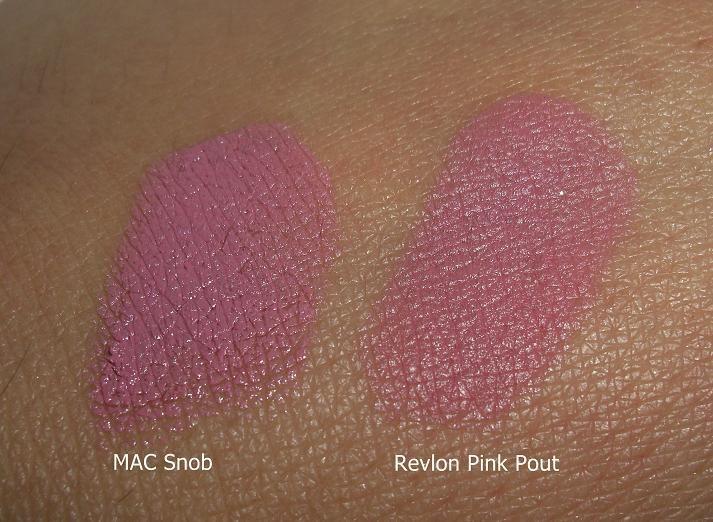 MAC Snob vs Revlon Pink Pout - Makeup and Macaroons