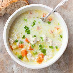 Zupa z kurczakiem, marchewką i groszkiem | Kwestia Smaku