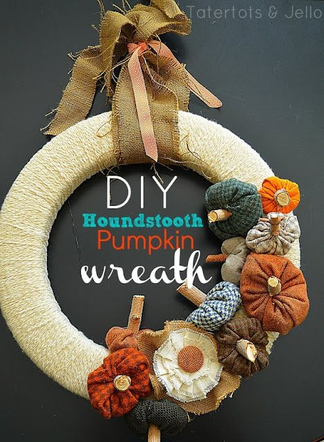 Craft-O-Maniac: 11 Lovely Fall Wreath's