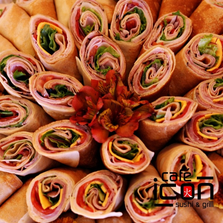 Our famous crepe wraps, we have a lot to choices on the menu.