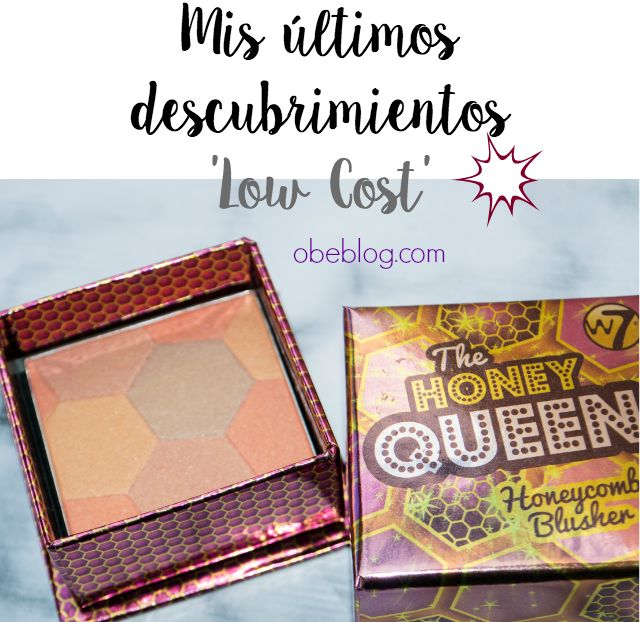 The Honey Queen | W7 colorete Dupe Sugarbomb Benefit #blush #makeup #lowcost #beauty @w7makeup