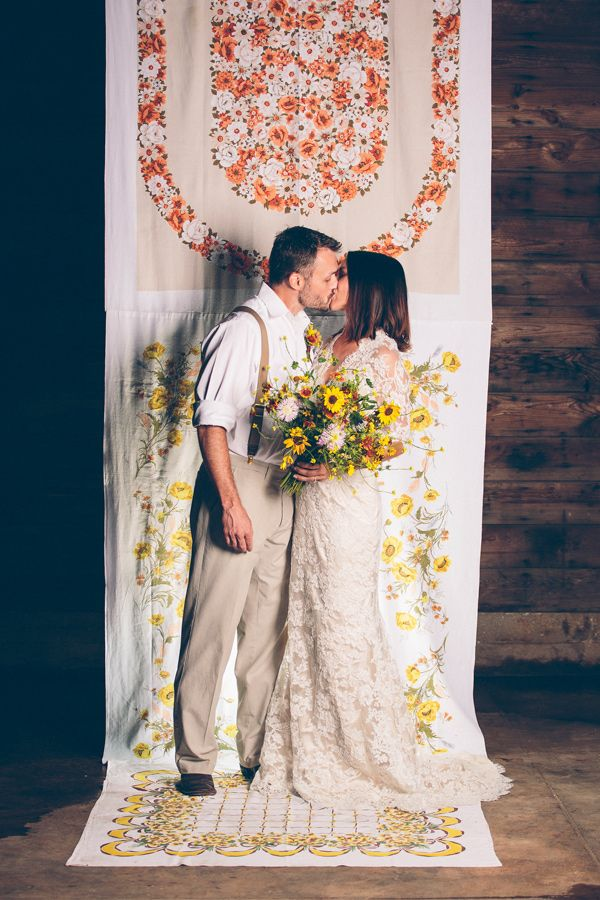 hippie chic altar backdrop // styling by Sweet Sunday ...