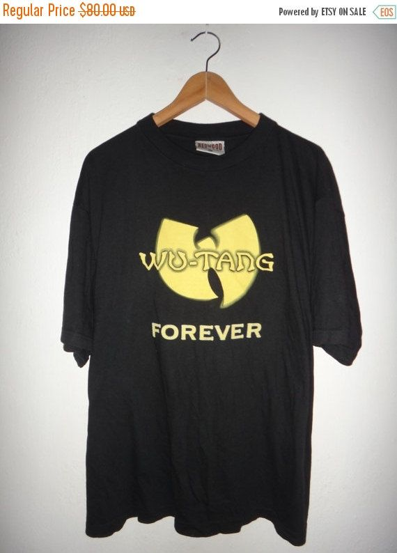Vintage Wu-Tang Clan Forever 1990s T Shirt Hip by TwistedFabrics