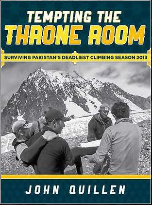 Tempting the Throne Room Book Review - Seattle Backpackers Magazine