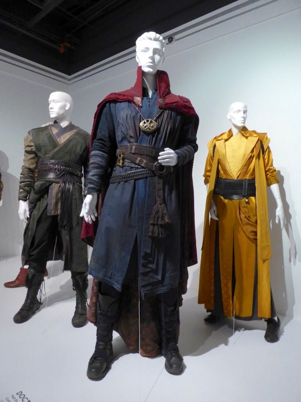 Doctor Strange movie costumes