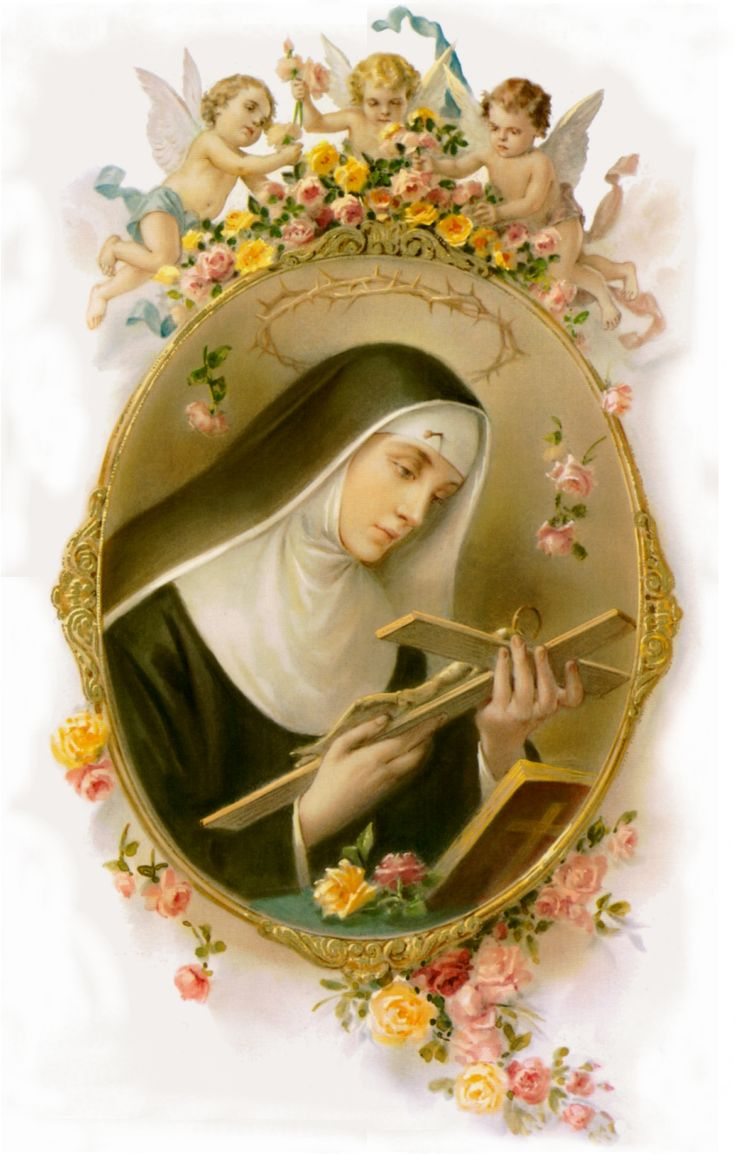 ST. RITA OF CASCIA, patroness of the impossible, pray for us.  (1381 - May 22, 1457)
