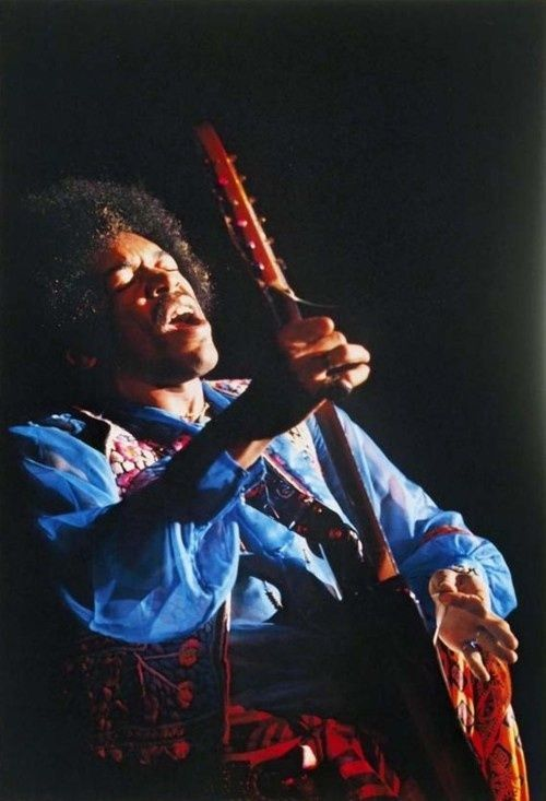 Jimi Hendrix at the Winterland, San Francisco 1968, by Jim Marshall