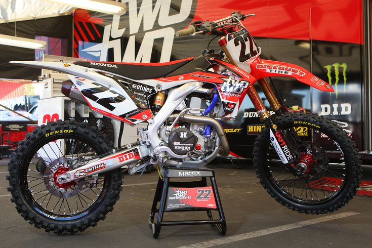 Honda CRF 450 Team Two Two Motorsports Chad Reed Supercross 2013