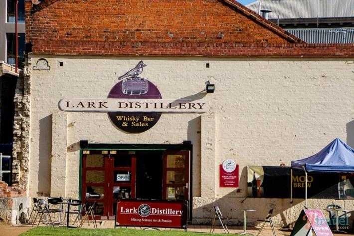 Lark Whisky Cellar Door, Hobart, Tasmania, Australia