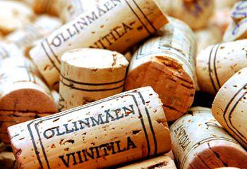 Пробки от финского вина